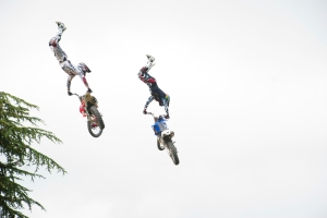 Scary, sky high stunts at Goodwood Festival of Speed