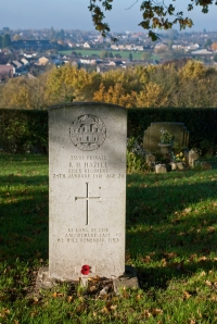 One of the Military Graves in St. Nicholas Churchyard