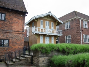 Charles Dickens' Swiss Chalet - his summer writing study