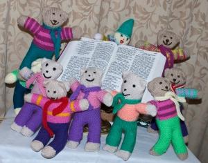 Teddies for Tragedies round the Bible