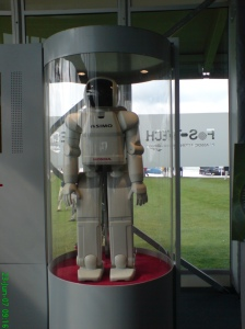 ASIMO the walking, talking robot