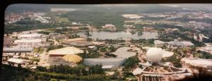 Aerial view of DisneyWorld, Orlando, Florida