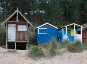 Beach huts at Wells next the Sea, Norfolk