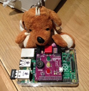 Reg and the Raspberry Pi